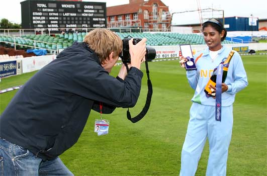[Chris Lee photographs Mithali Raj]