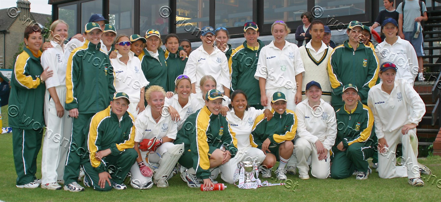 [South Africa and Sussex Teams, Fenners, 2003] © Don Miles