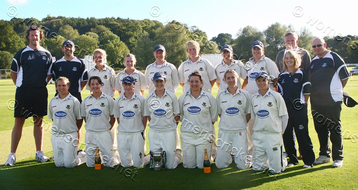 [Sussex Women's Team, County Champions 2010] © Don Miles